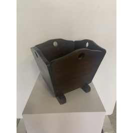 MAGAZINE RACK-Colonial Wood