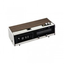 Digital Clock/Radio Wood/Silve