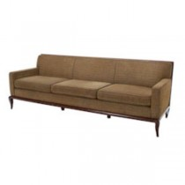 SOFA-Sage Brown Cushions W/Wood Frame