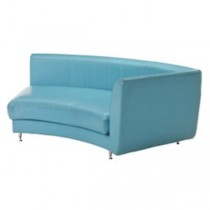 SOFA-RAF-BLUE KIDNEY-Chrome