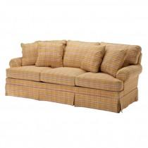 SOFA/3 Seat/YELLOW PLAID