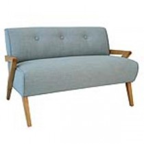 LOVESEAT-Light blue/blonde woo