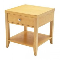 End Table-Pine/1 Drawer/Shelf