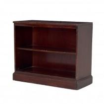 Bookcase-Mahogny/2 Fixed Shelf