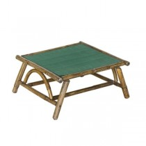 COFFEE TABLE-Dark Bamboo Frame