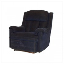 CHAIR-LAZYBOY-NAVY VELOUR
