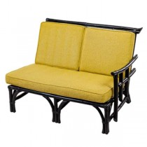 Settee-RAF Dark Bamboo-Yellow