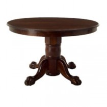 TABLE-DINING-OAK-CLAW FOOT