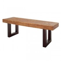 BENCH-RATTAN-RECTANGULAR-48""