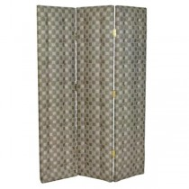 SCREEN-3PANEL-GEOMETRIC-UPHOLSTERED