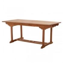 TABLE-GARD-TEAK LG RECTANGLE