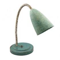 LAMP-GOOSENECK 50'S AQUA SILVE