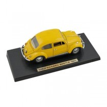 CAR- Model-Yellow VOLKSWAGAN Beetle (1967)