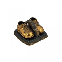BOOKEND-Bronzed Baby Shoe (Pair)