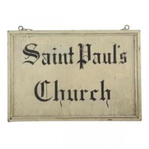 Sign-St. Paul's Parish