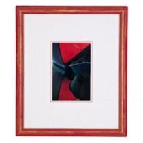 PRINT-PR-16X19-BOAT-RED FRAME