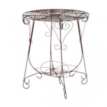 TABLE-RUSTY-WIRE-24DM X28H