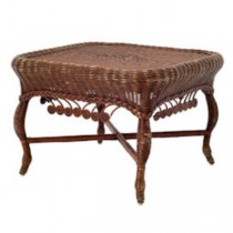 TABLE-COFFEE-BRN WICKER