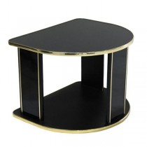 Table- End Black Gold