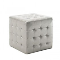 CUBE-PLATINUM PATENT-TUFTED