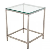 TABLE-END-18SQ-STEEL/GL