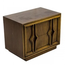 Abstract Diamond Night Stand
