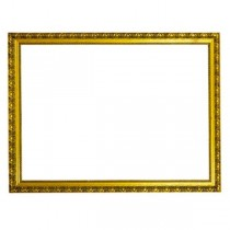 Gold Ornate Narrow Frame
