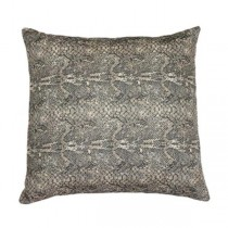 Pillow-Cotton Snake Print