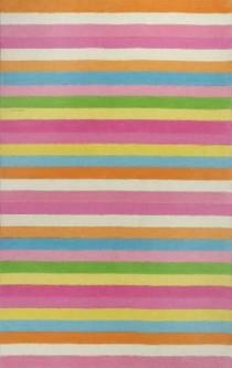 Multi Stripe(Pink) Rug
