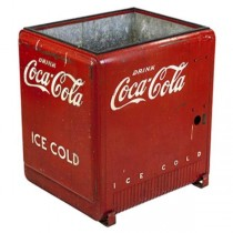 Vintage Coca-Cola Red Cooler/