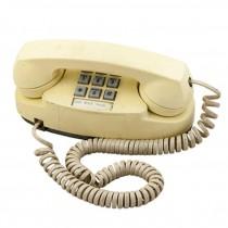 70's Beige Push Button Phone