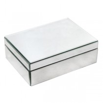 Mirror Box W/Hinge Lid