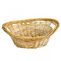 Natural Wicker Washing Basket