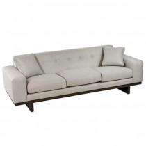 Beige Tweed Sofa