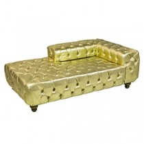 RAF Gold Tufted XL DayBed