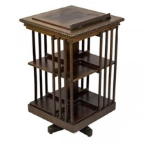 BOOKCASE-Rotating W/Book Stand Top