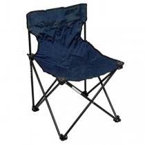 FOLDING CHAIR-Navy/Black Nylon W/Metal Frame