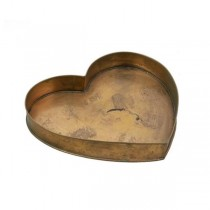 CAKE PAN-Copper Heart Shaped