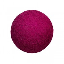 "YARN BALL PROP-Magenta 14""D"