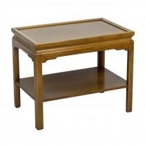 SIDE TABLE-Vintage Stow & Davis Maple