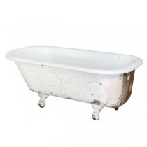 CAST IRON TUB-Free Standing