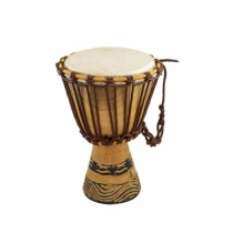 DJEMBE DRUM-African Rope-Tuned, Skin Covered