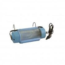 LAMP-HANGING-(2)Hook Blue Metal Light