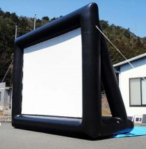 DRIVE-IN MOVIE SCREEN-Inflatable