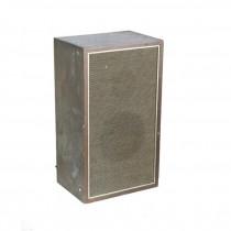 VINTAGE SPEAKER-Wood Grain Laminate W/Gold Detail on Frame