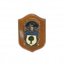 """COAT OF ARMS-Wooden Plaque """"Dooley"""""""