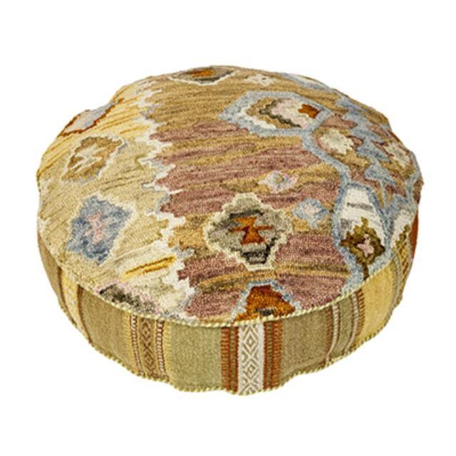 Ottoman-Pouf Round Moroccan