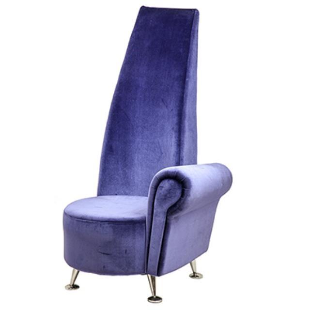 Purple Highback Raf Chair Propnspoon