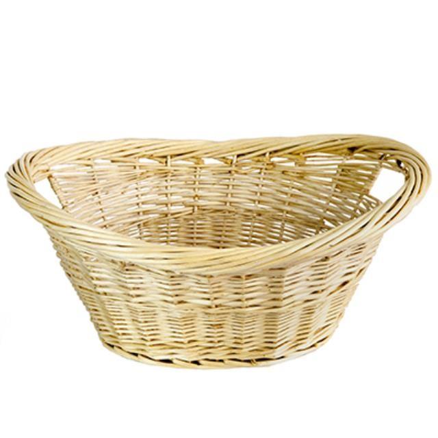 Natural Wicker Washing Basket
