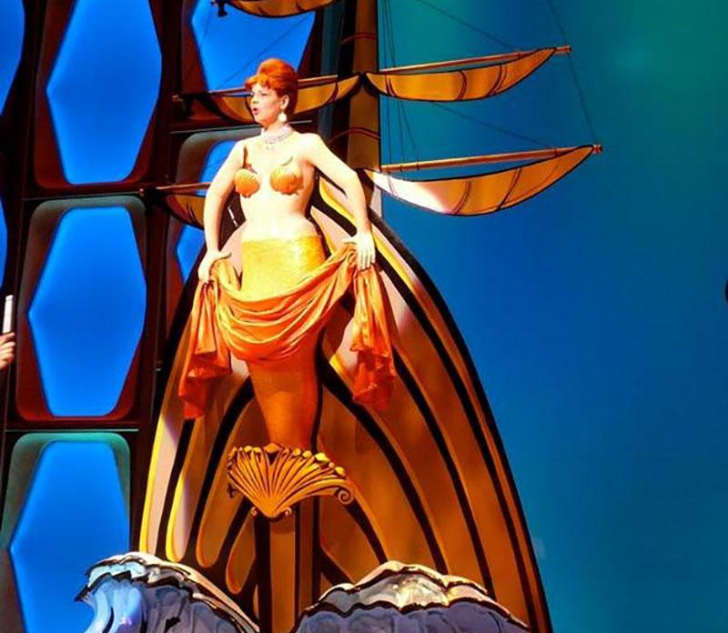 propNspoon Fabric Mermaid